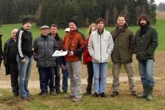 Exkursion und Schulung mit Dr. Ralf Obst vom BayLfD 2010